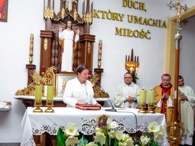 Śluby wieczyste s. Gosi Popławskiej