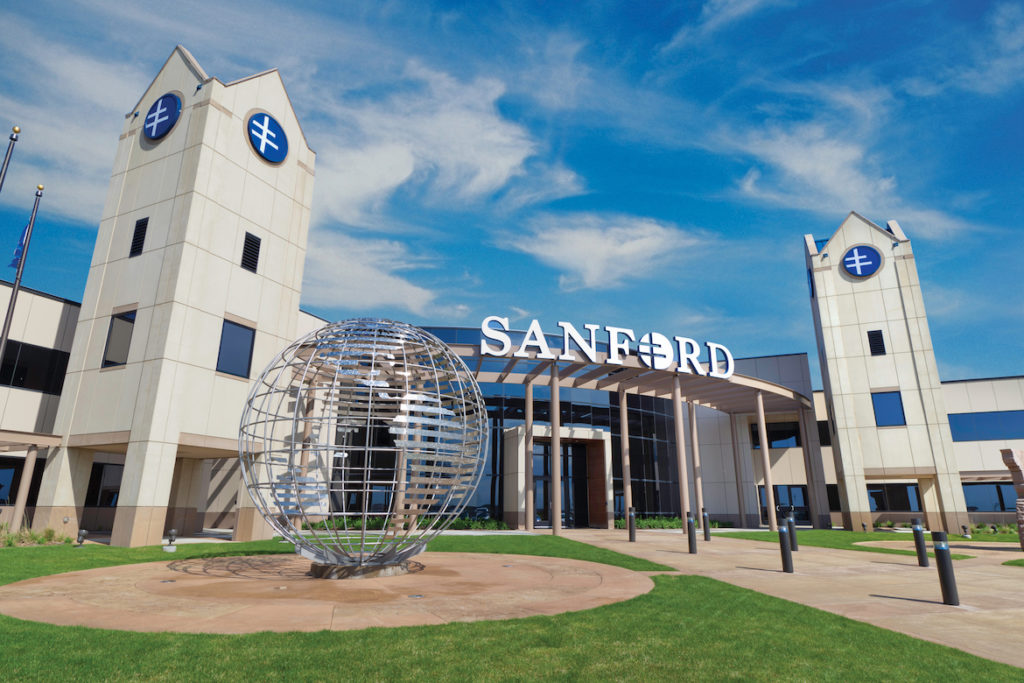Sanford Launches Second Stem Cell Trial