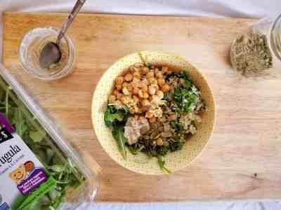 Vegan Caesar Grain Bowl