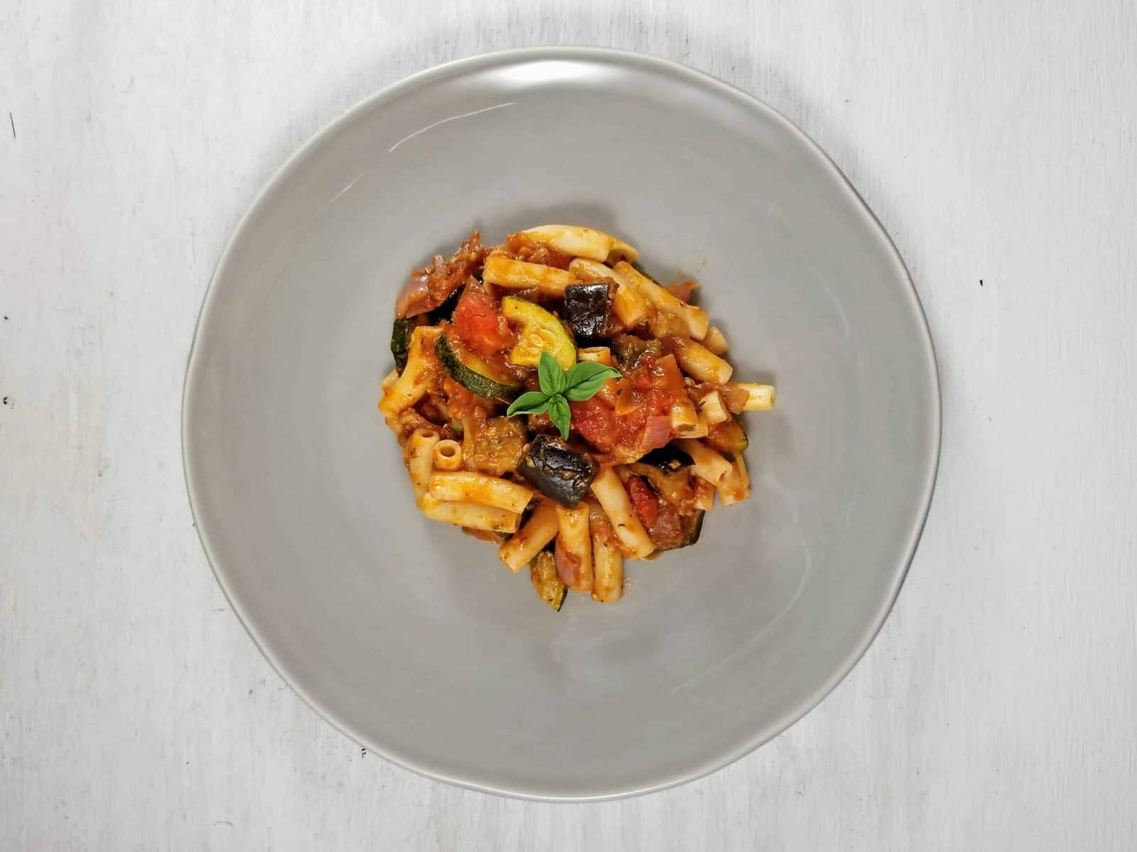 Roasted Ratatouille Ragu