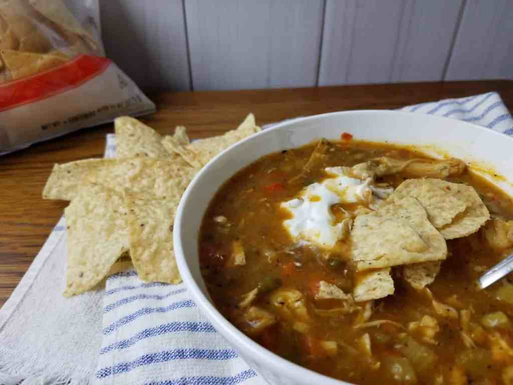Chicken Tortilla Soup | Sip + Spice