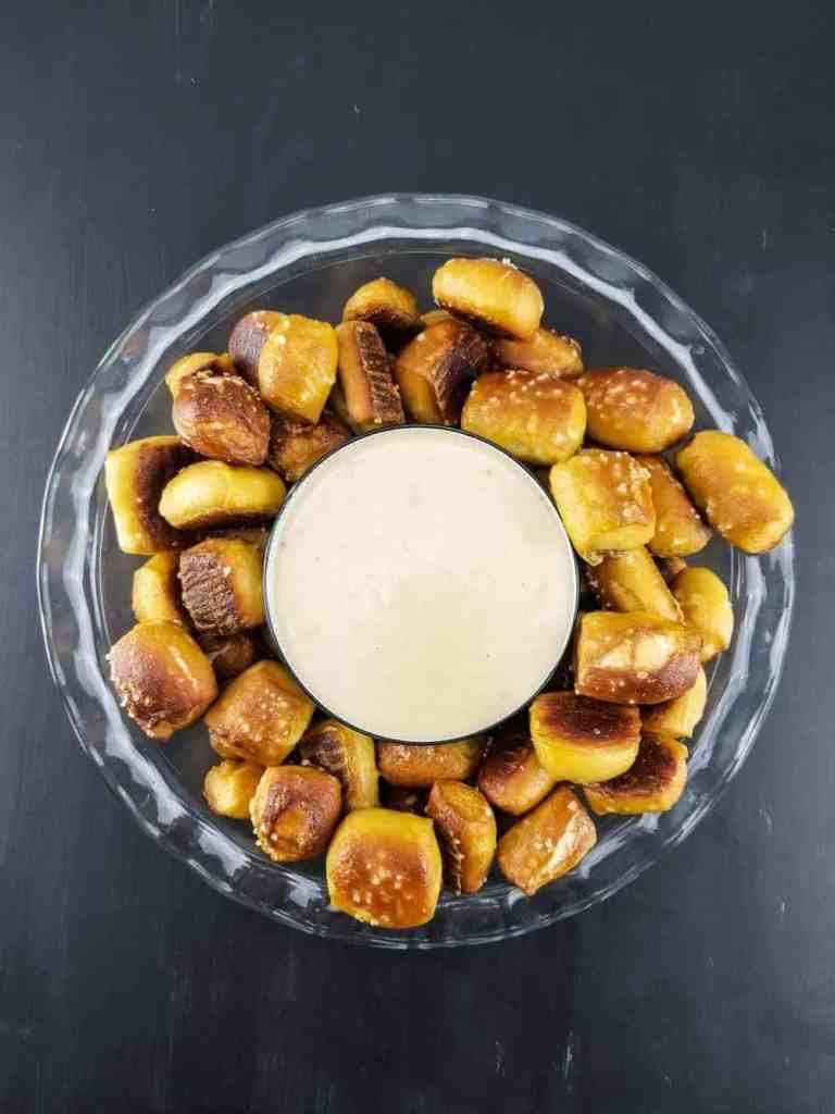 Soft Pretzels with Beer Cheese | Sip + Spice