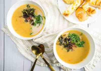 Creamy Ham + Potato Soup | Sip + Spice