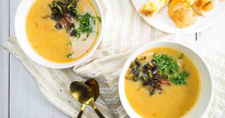 Dairy-Free Creamy Potato and Ham Soup