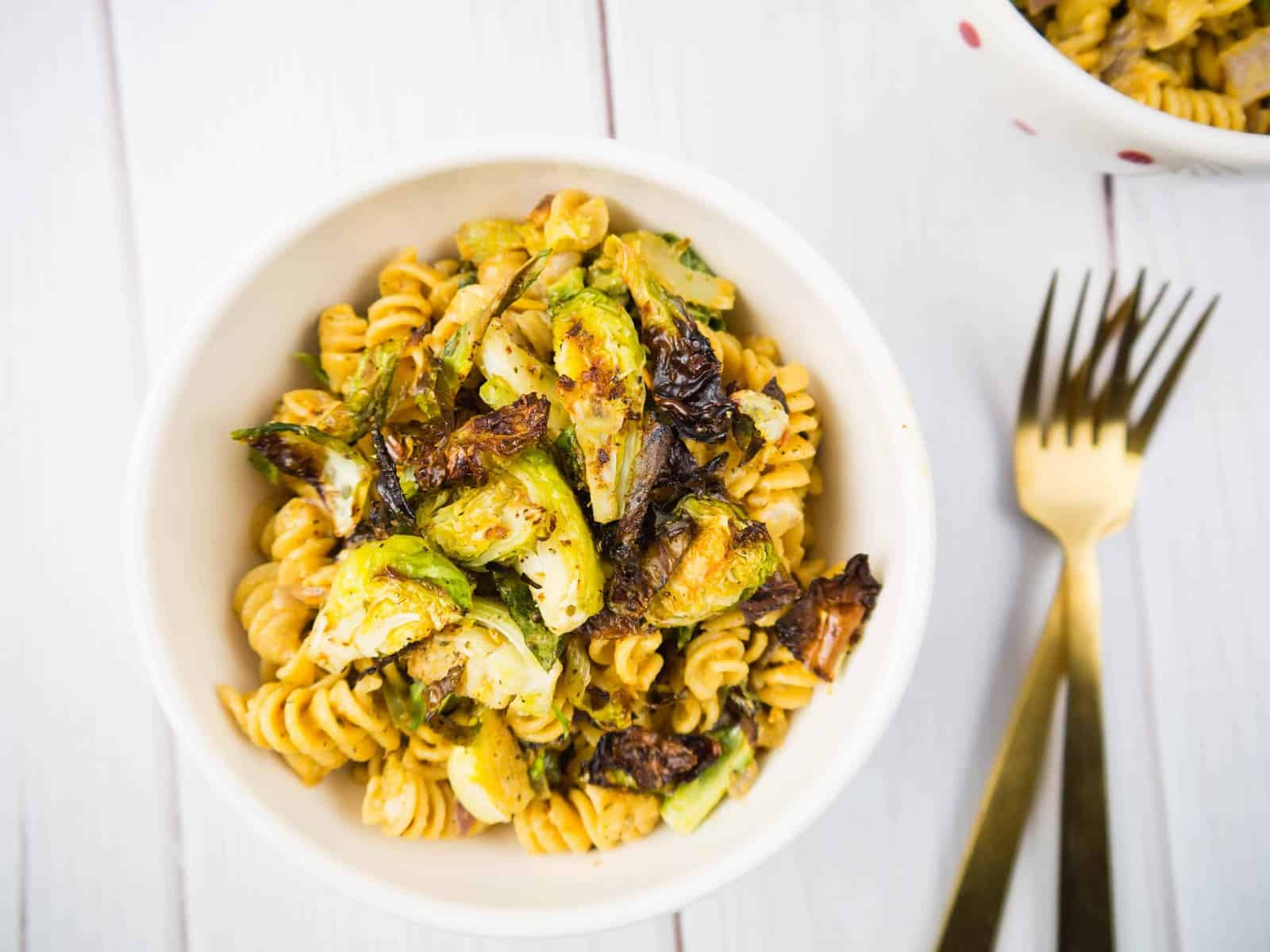 Spicy Roasted Veggie Mac and Cheese