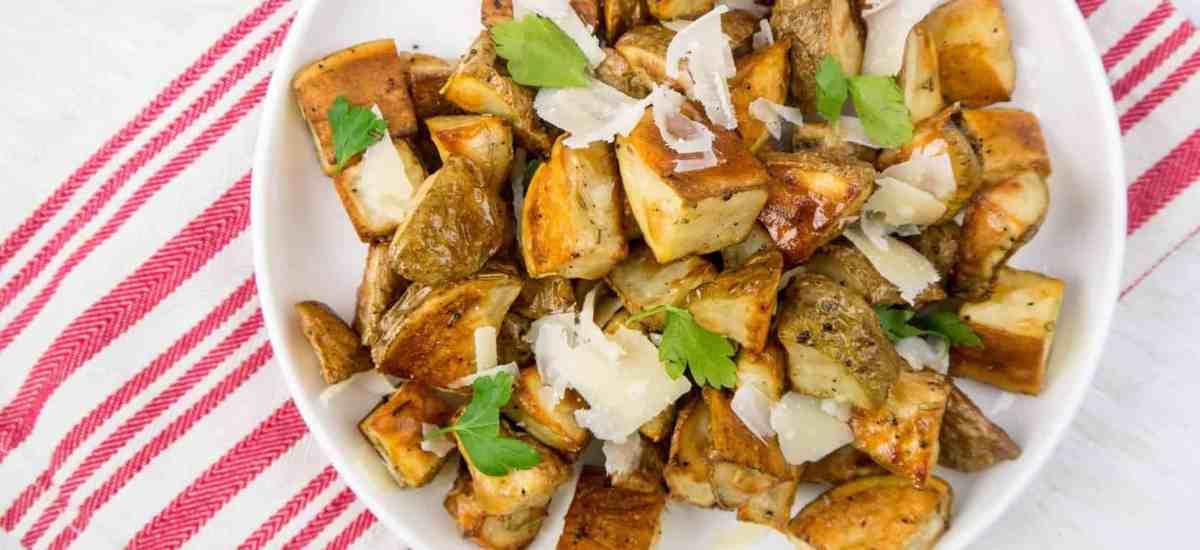 Truffle Parmesan Roasted Potatoes