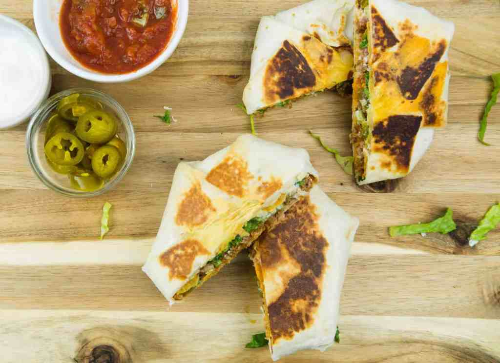 How to Make Homemade Crunchwraps | Sip + Spice