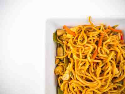 Easy Chicken Lo Mein | Sip + Spice