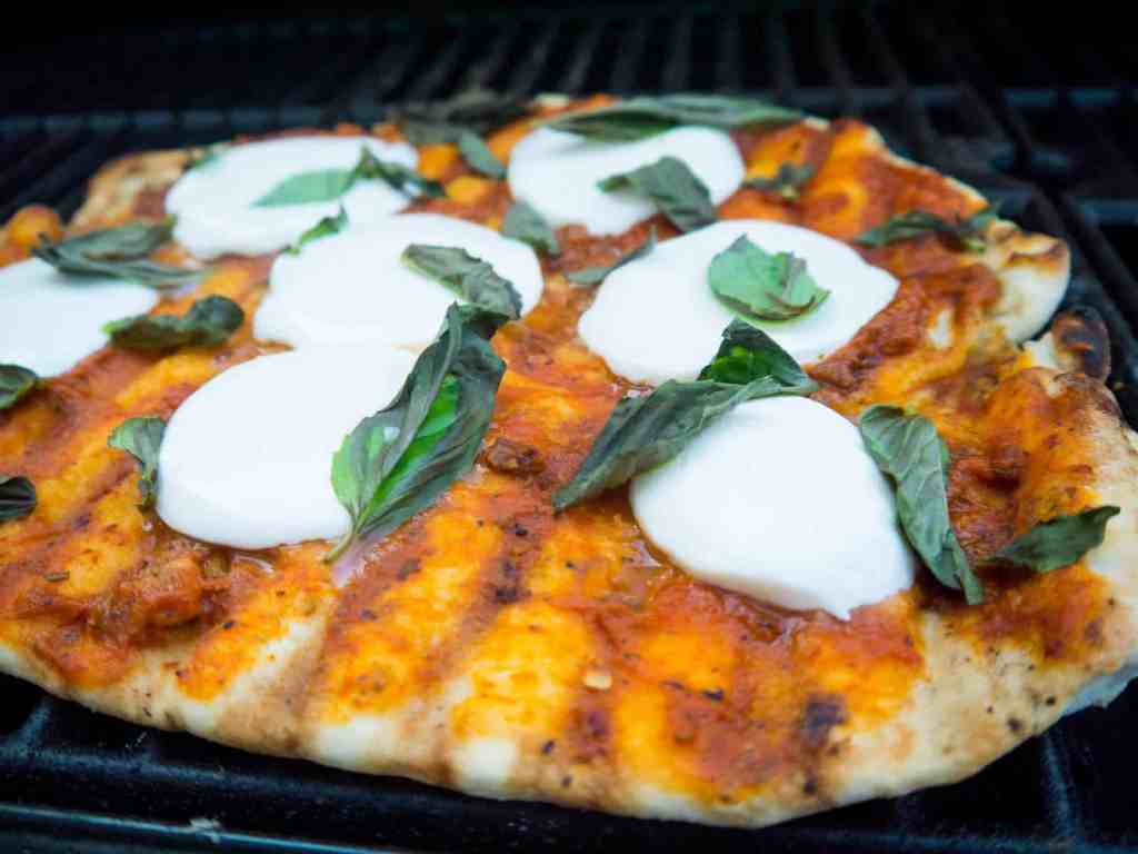 Grilled Margherita Pizza | Sip + Spice