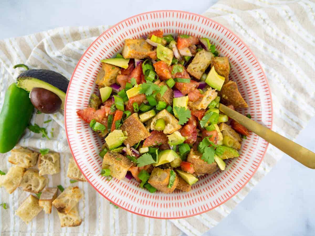 Mexican Panzanella Salad