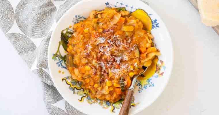 No-Noodle Minestrone Soup