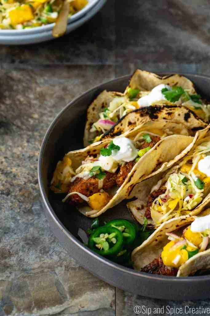 Easy Fish Tacos | Sip and Spice