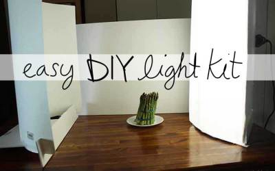 How to make DIY Lowel EGO Lights for food blog pics