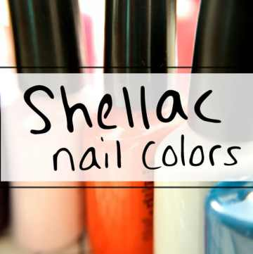Shellac nail polish color palette Get the shellac look at home with this DIY shellac nail color pallet. #prettynails https://sipbitego.com/shellac-nail-polish-color-pallet/