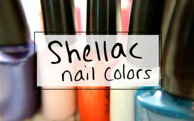 How to choose a Shellac nail polish 2018 color palette