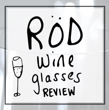 ROD wine glasses review 2017 - beautiful wine and champagne glasses sold in storage boxes.