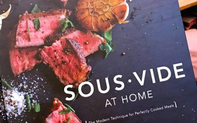Sous vide cookbooks for home chefs
