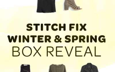 Winter Stitch Fix box opening 2018