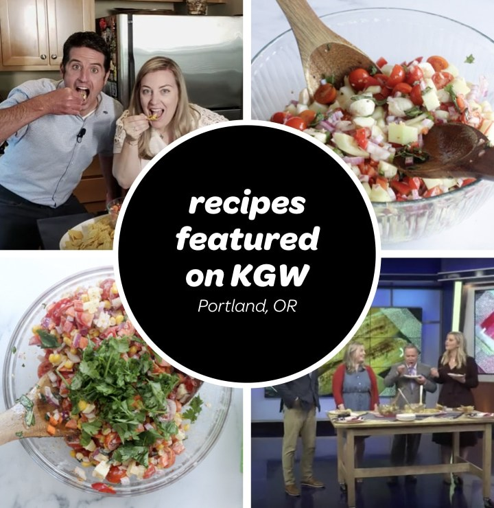 salad recipes featured on KGW Portland with Drew Carney