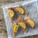 Making a Sous Vide Frozen Chicken Breast Recipe with lemon and garlic