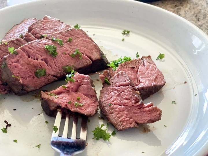 tender sous vide filet mignon medium rare recipe