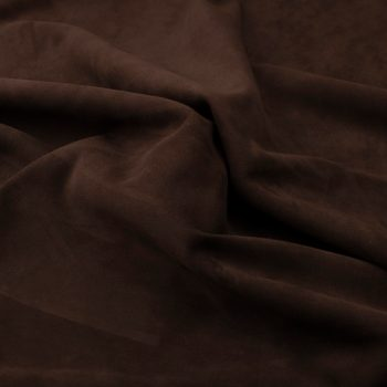 Silky suede brown pearl Sipo l6r392s - leather for garments without lining