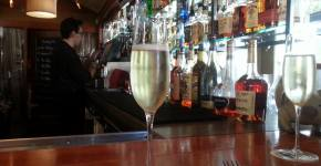 Rustic Ambiance at Monti's Santa Rosa Happy Hour