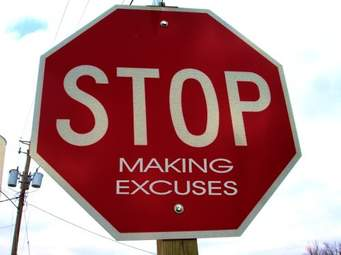 EXCUSES ARE NOT TO BE RECYCLED
