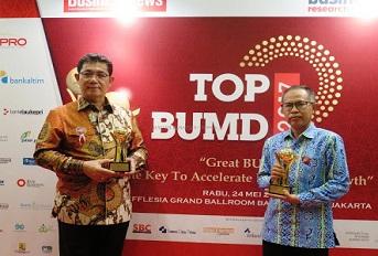 Penghargaan TOP BUMD