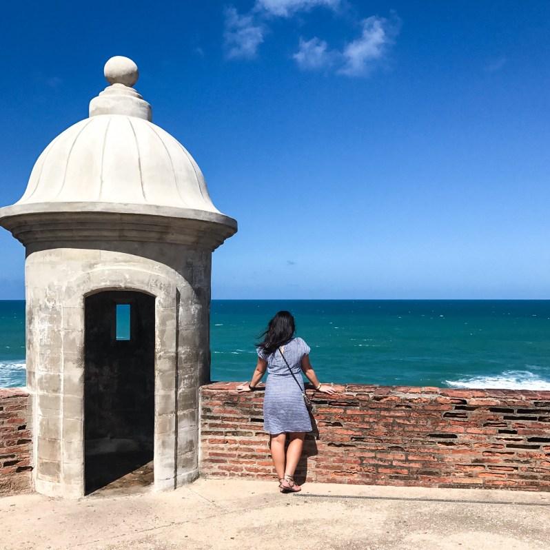 Old San Juan Old Navy Striped Dress Puerto Rico