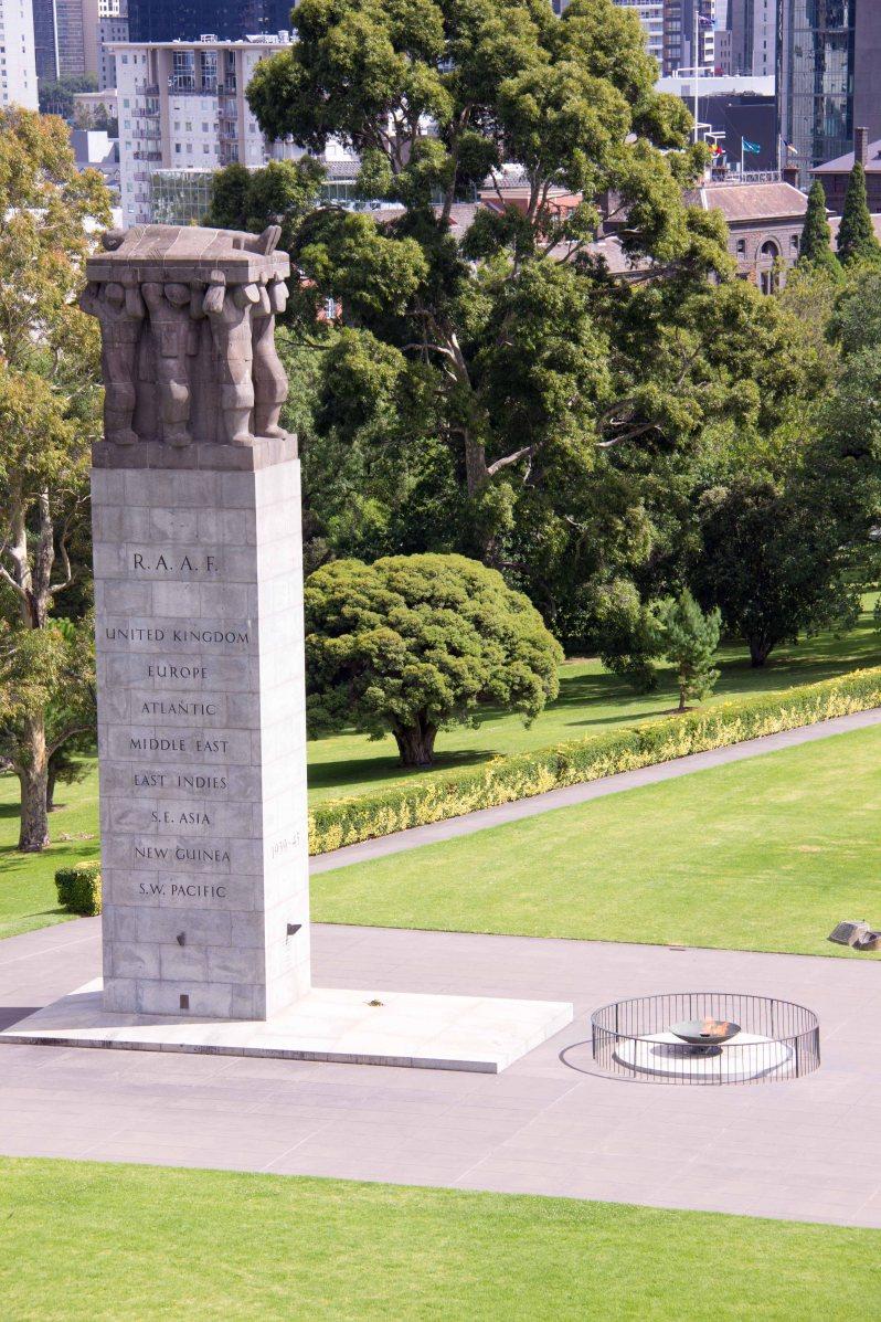 Eternal Flame Shrine of Remembrance Melbourne Australia.jpg