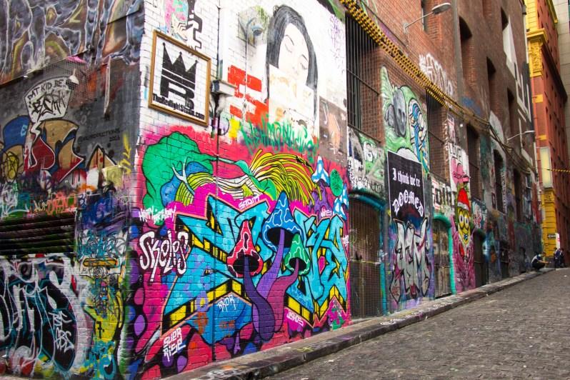 Graffiti Laneway 2 Melbourne Australia