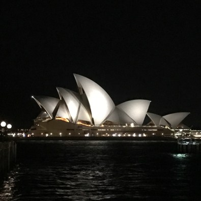 Sydney Opera House Night