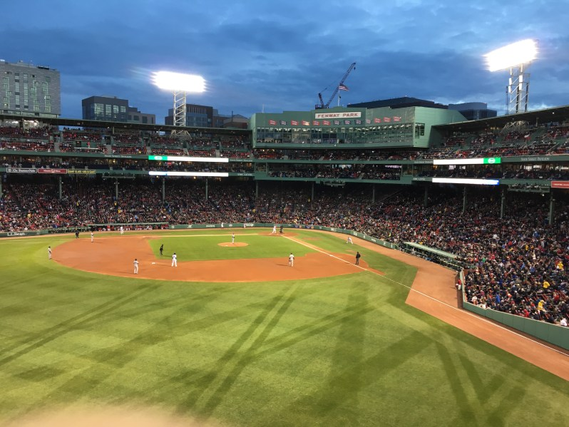 Fenway from Green Moster Seats