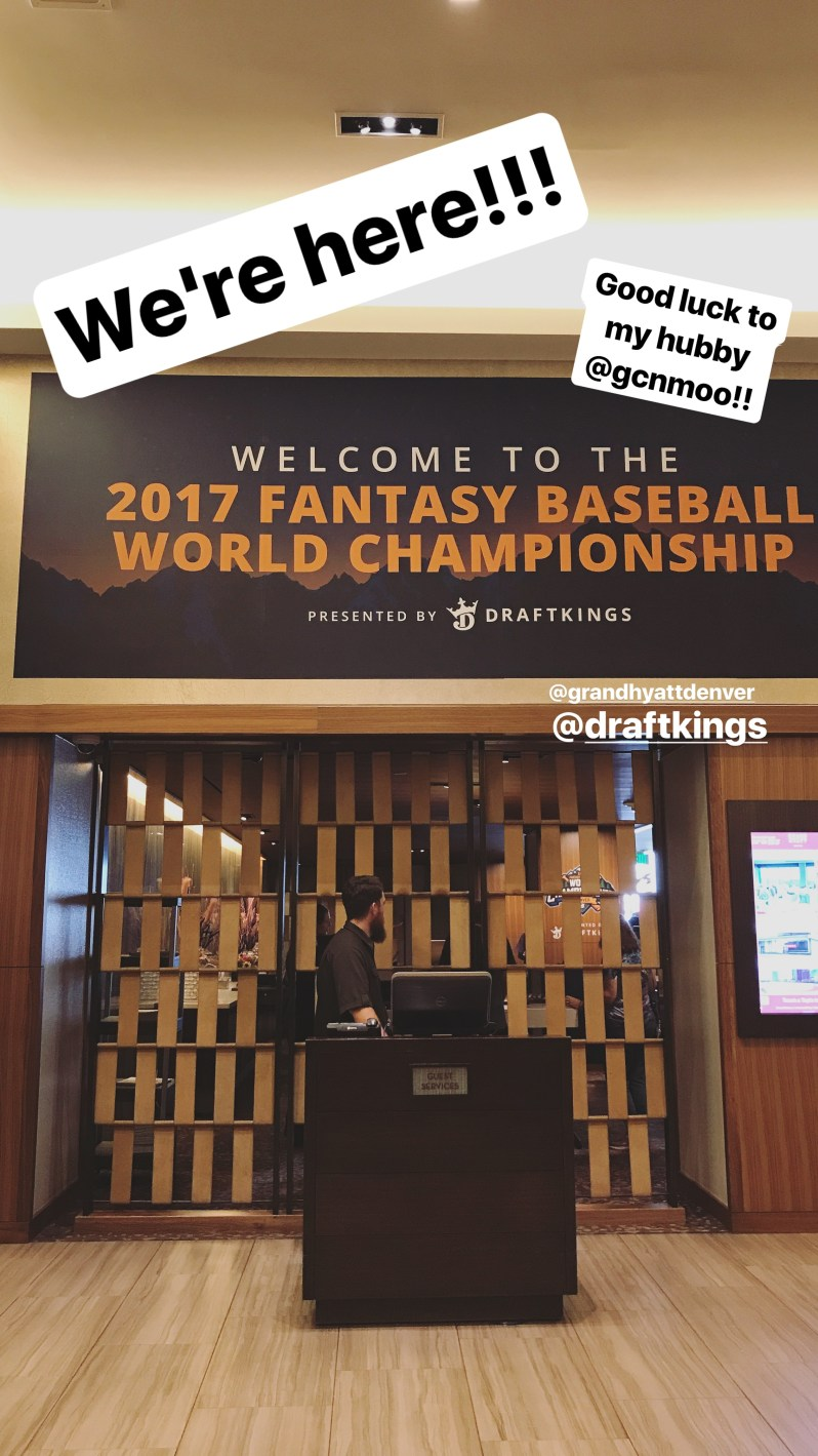 DraftKings 2017 Fantasy Baseball World Championship 1