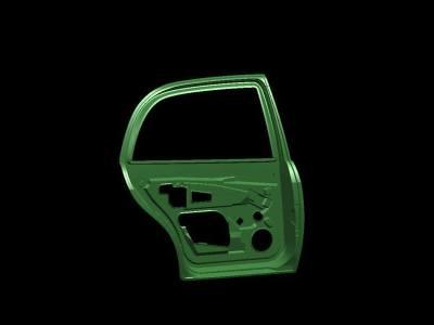 10.Car door stamping bracket(back door)
