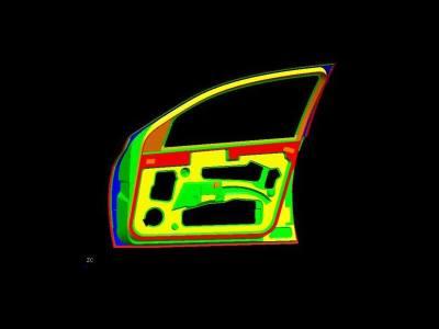 8.Car door stamping bracket(front door)