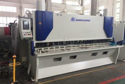 CNC hydraulic sheet metal shears