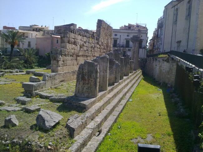 Siracusa - Resti del Tempio di Apollo