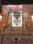 A temple that is being renovated