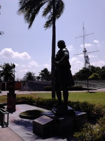 Statue of Francis Light