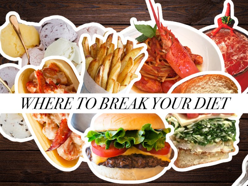 Where to Break Your Diet
