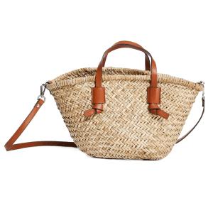 Mango straw bag basket bag in natural
