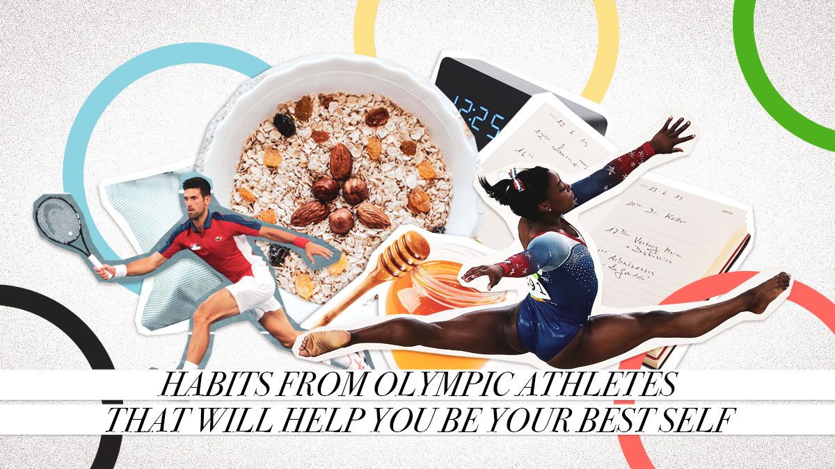 Habits from Olympic Athletes that Will Help You Be Your Best Self