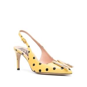 Moschino polka-dot pumps