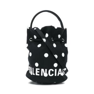 Balenciaga polka-dot bucket bag