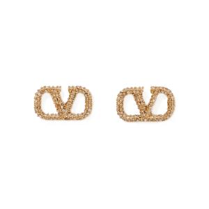 VALENTINO Valentino Garavani gold-tone crystal earrings