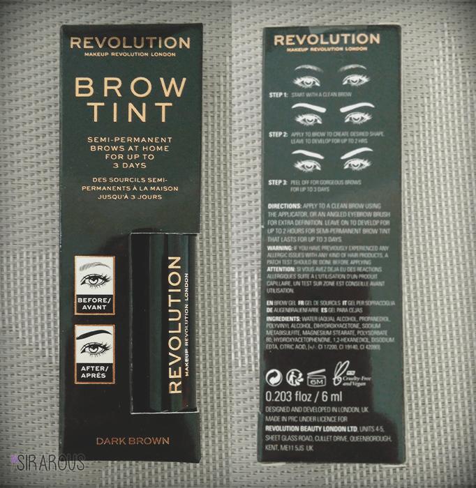 Brow Tint Revolution 2