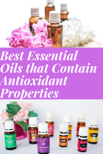 Essential oils with antioxidant properties