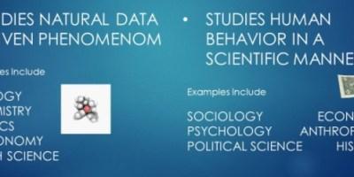 Doğa Bilimleri ve Sosyal Bilimler'in Birbirini Etkilemesi